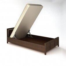 55° atidarymo kampo dujinių lovos pakėlimo mechanizmų komplektas