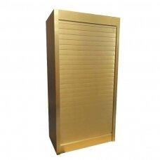 """Aliumininės baldinės žaliuzės """"BOXMILANO 2140"""", aukso spalvos"""