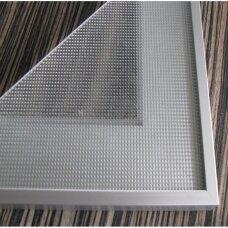 Aliumininis rėmelis, 20,6x50 mm su apsauginiu profiliu nuo dulkių