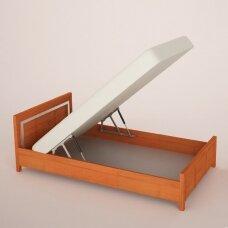 Dujinių lovos pakėlimo mechanizmų komplektas
