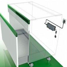 Elektros tiekimo įrenginys visam baldų komplektui