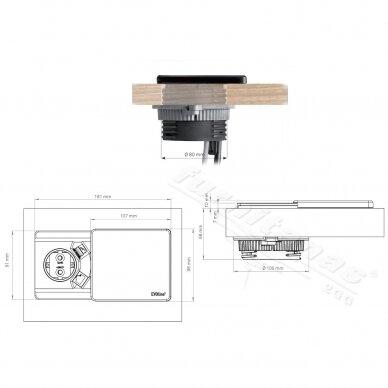 EVOline Square80 3
