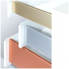 MIX&MATCH plati stalčių šonų spalvų paletė