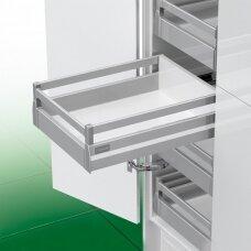 """""""Nova Pro Crystal Classic"""" vidinis stalčius H-152 mm, su stačiakampių paaukštinančių vamzdelių pora"""