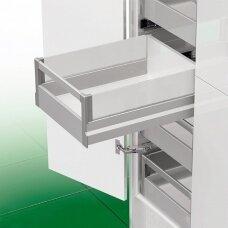 """""""Nova Pro Crystal Classic"""" vidinis stalčius H-90 mm, su aliuminine paaukštinančia sistema"""
