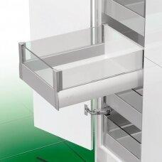 """""""Nova Pro Deluxe Crystal"""" vidinis stalčius H- 186 mm, skirtas sistemoms su stikliniais fasadais"""