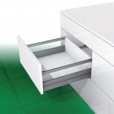 """""""Nova Pro Scala"""" stalčius su stačiakampių paaukštinančių vamzdelių pora H-90 + X mm"""