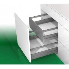 """""""Nova Pro Scala"""" vidinis stalčius, H-186 mm, L-500 mm, su stačiakampių paaukštinančių vamzdelių pora"""