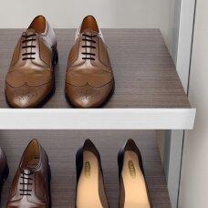 Priekinis profilis batų lentynai
