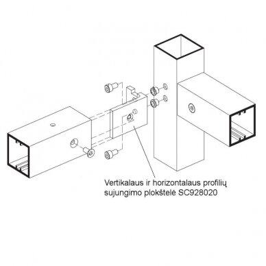 Aliuminio profiliai stelažams 7