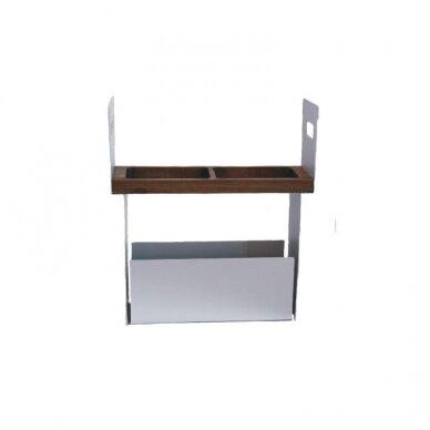 Į stalviršį montuojama daiktų laikymo sistema TARA 12