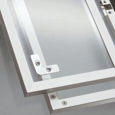 Siauro profilio aliumininis rėmelis, 20,6x19 mm