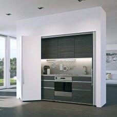 """Sulankstomų įvažiuojančių durų sistema """"Folding Concepta 25"""""""