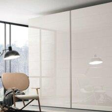 Vienos plokštumos slankiųjų durų sistema PS40